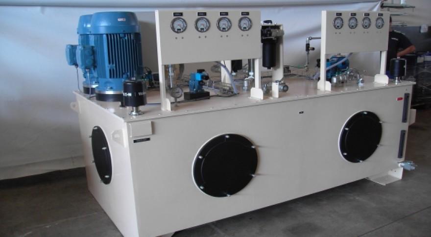 Unidade Óleo-Hidráulica Comporta da Tomada de Água