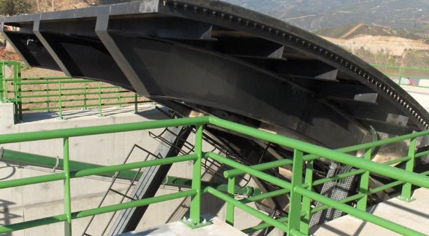 Servomotor (Cilindro Hidráulico) Comportas do Descarregador de Cheias
