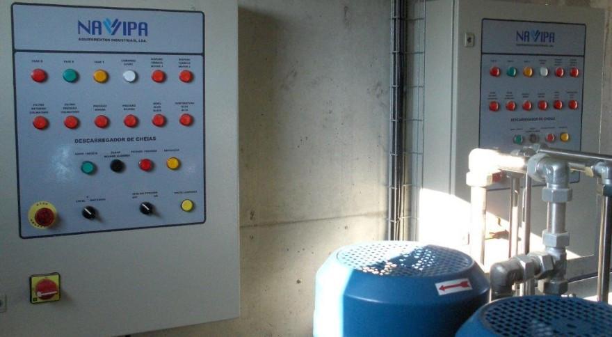 Unidades Óleo-Hidráulicas das Comportas de Descarga de Fundo e da Tomada de Água