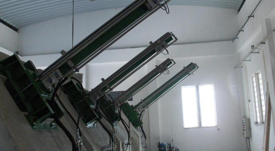 Servomotores (Cilindros Hidráulicos) das Comportas de Descarga de Fundo e Tomada de Água