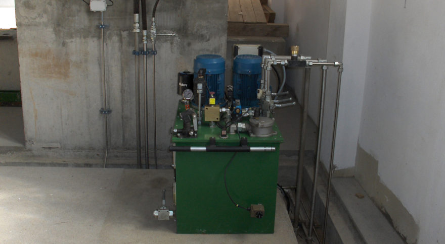 Unidade Óleo-Hidráulicas das Comportas de Descarga de Fundo e da Tomada de Água