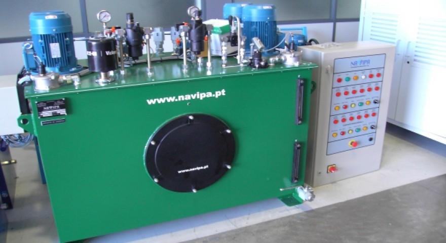 Unidade Óleo-Hidráulica e A. Eléctrico das Comportas Ensecadeira