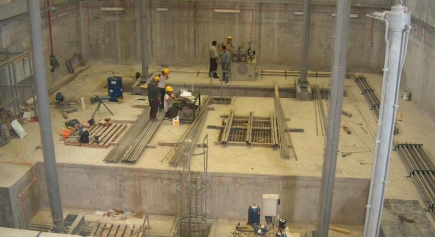 Cilindros e Unidades Óleo-Hidráulica das Comportas do Túnel